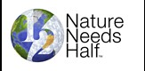 logo for Nature Needs Half