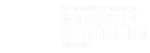 The UN Decade on Ecosystem Restoration logo